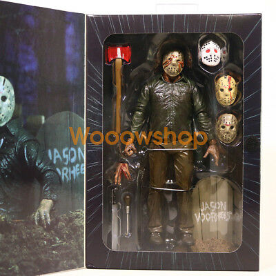 "NECA Friday The 13th Part 5 Jason Voorhees Ultimate 7"" Action Figure 2017 1:12"