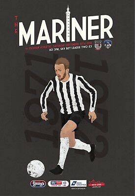 Grimsby Town Football Club - 18/19 Programme - Oldham Athletic - 15/09/18