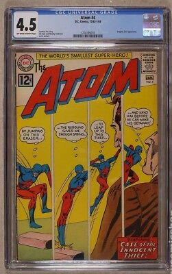 Atom #4 1963 CGC 4.5 - Snapper Carr appearance -1226195010
