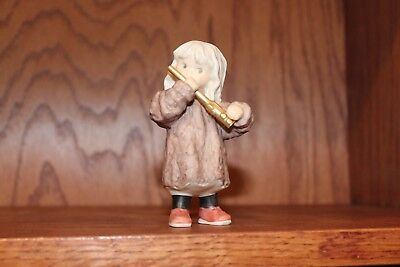 Kim Anderson Bahner Figurine 538574 ~ Girl Playing Flute 1999 ~ VERY GOOD!