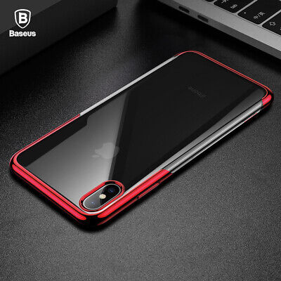 BASEUS Ultra Hybrid Bumper Clear TPU Shockproof Case Cover For iPhone XS MAX XR