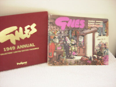 giles 1949 annual - collectors limited edition facsimile by pedigree books