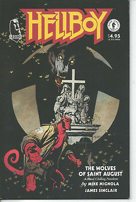 HELLBOY: The Wolves of Saint August Dark Horse Comics (1995) RARE