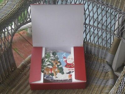 Lenox 2002 Rudolph the Red Nosed Reindeer Canape 10 Inch Serving Plate EUC