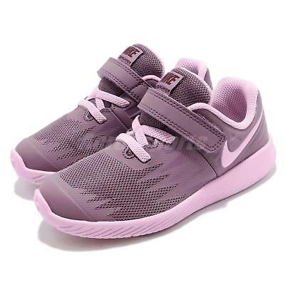 pretty nice b7518 62bd6 NIKE STAR RUNNER TDV Violet Dust Purple Pink Toddler Infant Baby Shoe  907256-500