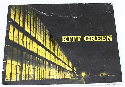 Vintage Heinz Factory at Kitt Green Tour Brochure  FREE UK POSTAGE