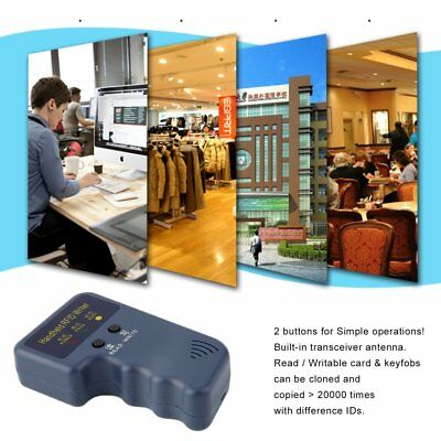 Handheld 125KHz RFID Copier/Writer/Readers/Duplicator With 10PCS ID Tags AW