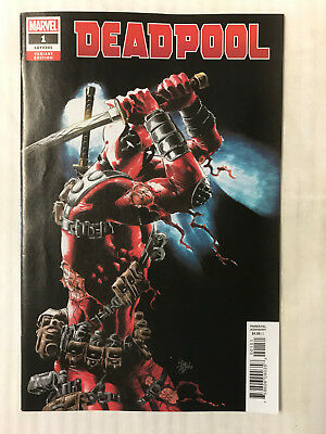 Deadpool #1 - 1:25 Variant! NM - Mike Deodato Cover!