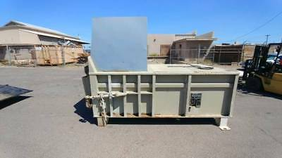 MARATHON RAMJET 225HD STATIONARY COMPACTORS with Hydraulic Power Unit