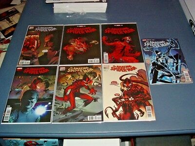 AMAZING SPIDER-MAN 794 795 796 797 798 799 800 ALL NM UNREAD 2nd PRINT VARIANTS