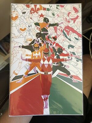 Mighty Morphin Power Rangers 2108 Annual  Shattered Grid 1:25 Virgin Variant NM