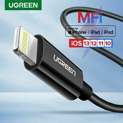 UGREEN Lightning Cable Apple MFi Certified Charge and Sync Data Lead for iPhone