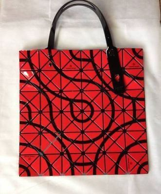 Bao Bao Issey Miyake Women's Tote Bag / Hand Bag Red with Guarantee Brand New