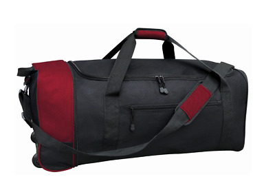 """Traveler's Club 32"""" Collapsible Rolling Duffel + FREE Shipping"""
