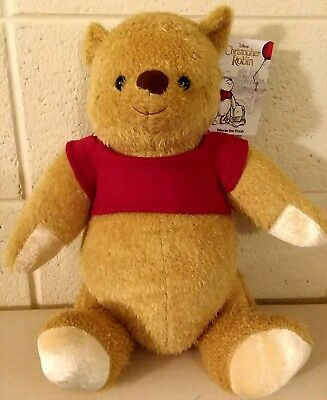 """Disney 2018 Christopher Robin Movie Winnie the Pooh Jointed Plush 17"""" SOLD OUT"""