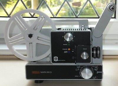Eumig cine projector for standard 8, single 8 and super 8.