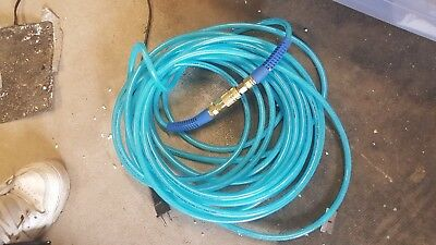 Grip-Rite 3/8 in. x 50 ft. Polyurethane Air Hose With Couplers Resists Kinking