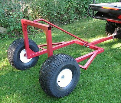 Atv Log Skidder Arch Hauler,heavy Duty