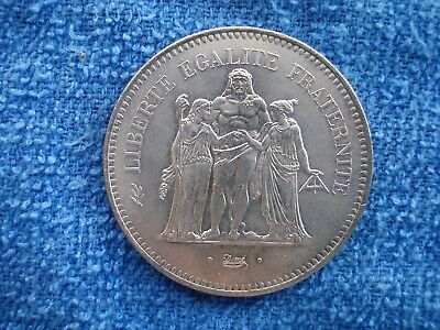 1976 50 Francs Coin - uncarded
