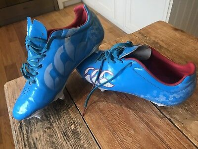 Canterbury rugby boots Size 7 / 41 blue Boys Girls Unisex