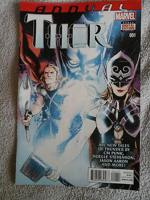 """Thor Vol.4 Annual #1 2014 """"Tales Of Thunder"""" Marvel"""