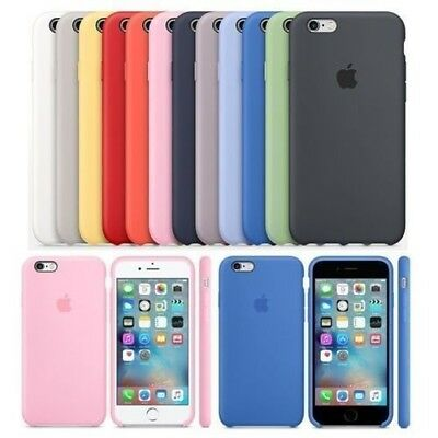 Case for Apple iPhone XS Max XR 8 7 6 Original Genuine Hard Silicone Phone Cover