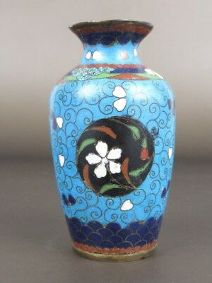 Antique Small Jar Eastern Enamelled Chinese Antique Cloisonne 1800