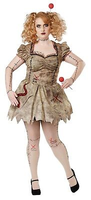 California Costumes Voodoo Dolly Women Plus Size Costume 01774