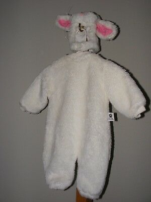 Tom Arma White Rabbit Bunny Costume Size 12-18 Months Baby Toddler