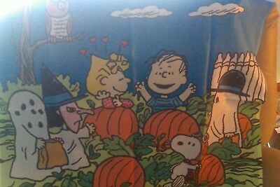 snoopy large halloween flag by willabee and ward