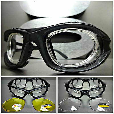 SPORT RACQUETBALL Lens or Lensless PROTECTIVE PADDED GLASSES GOGGLES EYEWEAR
