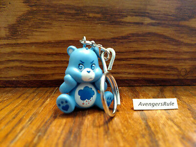 Care Bears Unbearably Cute Vinyl Keychain Series KidRobot Grumpy Bear 2/24