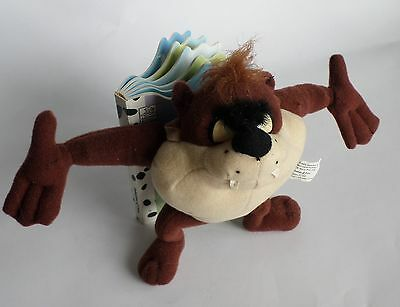 Looney Tunes Devils and Martians Picture Book with attached TAZ Plush Doll