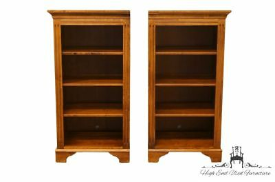 """ETHAN ALLEN Country Crossings Left and Right 25"""" Bookcases 17-9811/ 17-9812"""