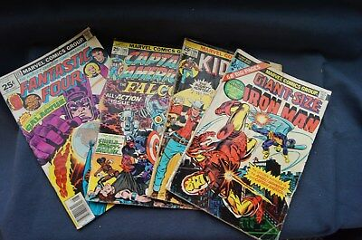 old Marvel comic books , 1970's rough