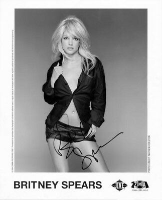 Britney Spears 8x10 Reprint Autographed Signed Photo