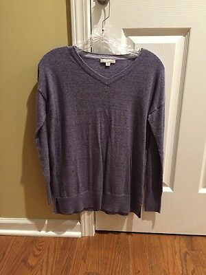 Womens Gap Maternity Sweater Size Extra Small Lightweight