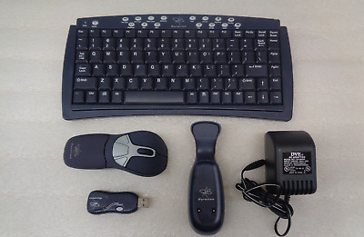 70cd445ce73 GYRATION WIRELESS AIR Mouse AS04130 Bundle w/ Cradle AS04128 // USB ...