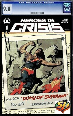 Heroes in Crisis 1 Variant CGC 9.8 *Fast Tracked*