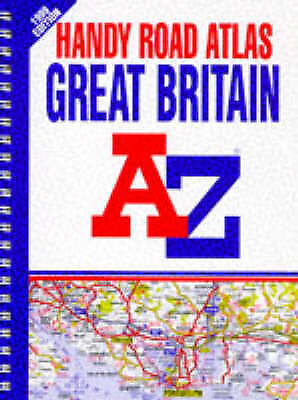 Handy Road Atlas of Great Britain by Geographers' A-Z Map Company (Paperback /