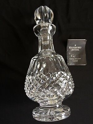 Waterford Crystal Colleen Brandy Decanter in Original Box - 29.5cm