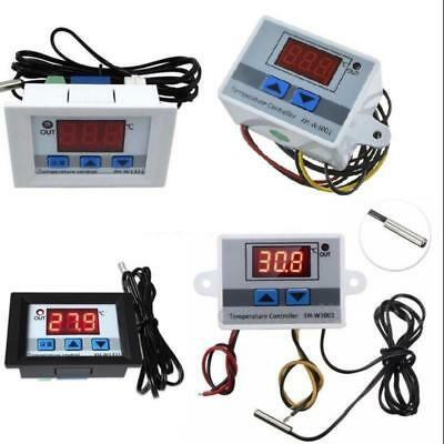 12V/24V/220V Digital LED Temperature Controller Thermostat Control Switch Probe