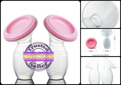 Haakaa Silicone Breast Pump Stopper BPA PVC and Phthalate free Babies New