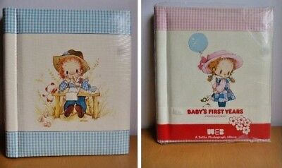 Vintage 1970s Baby's First Years Photo Album Selfix Unused Pink & Blue Available