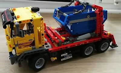 lego technic container truck 8052 m anleitung sok1217. Black Bedroom Furniture Sets. Home Design Ideas