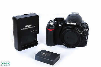 Nikon D3100 Digital SLR Camera Body, Black {14.2 M/P}