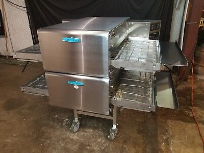2014 TURBOCHEF hhc2620 DOUBLE STACK CONVEYOR PIZZA OVEN......VIDEO DEMO