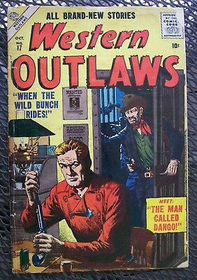 Western Outlaws #17 1956