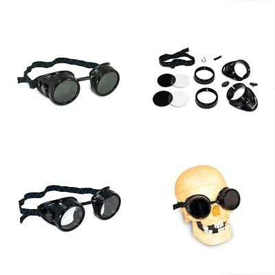 5 Shade Safety Goggles & Glasses Black Welding Cup - 50mm Dual Lens Eye