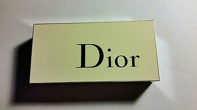 CHRISTIAN DIOR Acrylic & Metal Display Plaque! RARE And Hard To Find! FREE...